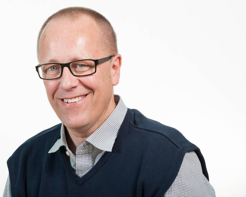 Björn Cedersjö, direktor på Sveriges kristna råd.