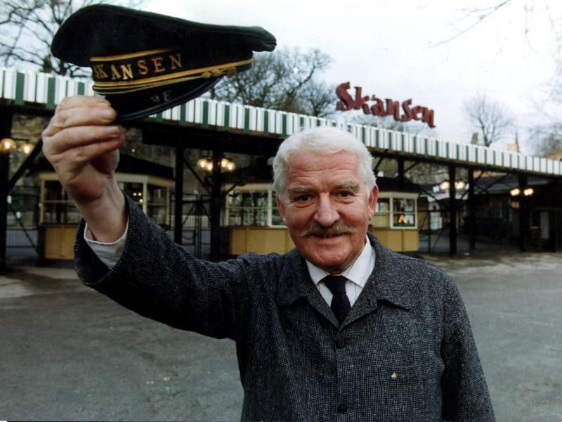 1992. Hans Alfredson var Skansenchef 1992–1994.