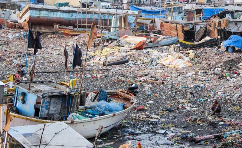 Mest utsatta för klimatförändringarna är de som bor i fattiga utvecklingsländer, skriver debattören. Bilden från Mumbai, Indien.